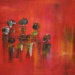 Meine Familie und ICH, Acryl, 60x60cm, 2011