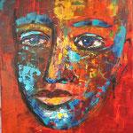 PHARAO, Acryl, 90x60 cm,2017