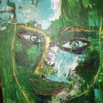 LAURA, 70x50cm, Acryl, 2016