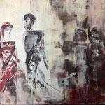NEUSTART, Acryl, 50x70cm, 2016
