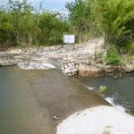 ein von LWD geförderter Damm, der mehreren Dörfern eine ganzjährige Wasserversorgung ermöglicht