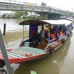 unser Schiff auf der Mekong Delta Tour