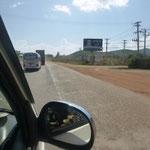 auf meinem Weg zu Jana nach Chambok