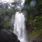 Baden unter dem Wasserfall