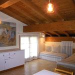 Bed and Art, la stanza degli ospiti