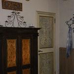 Decorazioni su porte e mobili