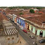 Ausblick von der Iglesia de la Merced aus