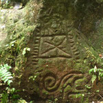 Steine von den Ureinwohnern