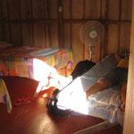Unser Zimmer in der Finca Magdalena