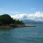 Blick von der Faehre bei Puntarenas