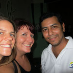 Tona, Bayardo und ich 03/2014