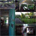 Unterkunft und Anlage des Projektes