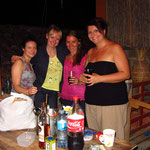 Julia, Anja, Tine und ich 03/2014