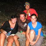 me, Guille, Pablo und Joli
