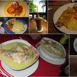 Hummer, Shrimps und Fisch... und immer ein tolles Frühstück mit Früchten und Kokosnussbrot - uns ging es echt gut in dieser Woche!