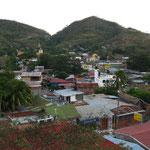 """Ausblick von unserem Hostel """"Villa del Sol"""""""