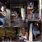 Herstellen von Kokosnussöl