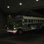 Die vorher erwaehnten Busse an der Albrook-Busstation