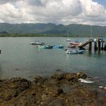 Der Hafen von Tambor