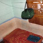 LOL, hier schlafen wir... 1 meter daneben schlaeft noch sein Zimmergenosse. Im Haus wohnen noch weitere 5 Leute. Zum Duschen gehen wir 2 Haeuser weiter, zu Doris (kommt auch aus Nicaragua). Die macht auch immer Fruehstueck fuer uns...