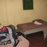 das Hostel in Moyogalpa (schaut schlimmer aus, als es war. Keine BEDBUGS!!!)