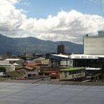 Ausblick vom Museo National de Costa Rica (dem wohl langweiligsten Museum in dem ich jemals war!!!!)