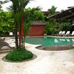 Der Pool im Hostel