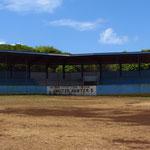 Auch auf der kleinsten Insel gibt es ein Baseballstadium