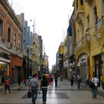 Einkaufsstrasse Jirón de la Unión