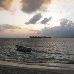Sonnenaufgang auf Isla Naranjo Chico