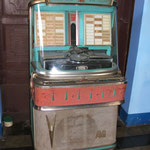 Jukebox in unserem 1. Hostel *Hospedaje Esfinge*