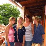 Adelheid, Leonie, Hanna und ich 10/2013