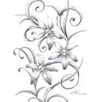 Blütenranke