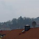 Blick aus der Dachluke-
