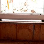 Badfenster vor Dichtband