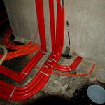 Wasserleitungen + Fundamenterder
