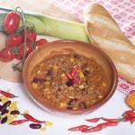 Chili con Carne Serviervorschlag