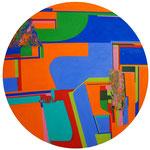 suuny place 100cm 2020 oil on canvas