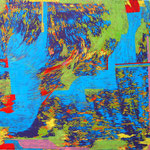 SONG16-2  2016 45.5x45.5cm oil on canvas