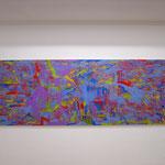 everglow  233.4x80.3cm  2016 oil on canvas