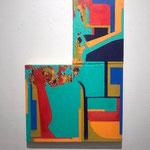 talk20-3 40.5x27.5cm 2020 oil on canvas