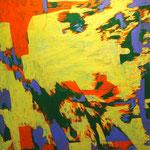 SONG16-1  2016 45.5x45.5cm oil on canvas