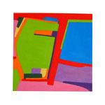 akademy street 27.7x27.7cm 2021 oil on canvas