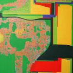 brilliant mountain  2014  116.7x91cm oil on canvas