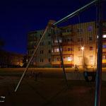 kleine nächtliche Fotosafari mit Niclas Meyer am 15.07.2013 in Leinefelde neuer Spielplatz Jahnstrasse