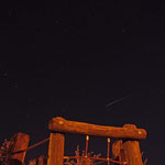 Sternschnuppe über dem Spielplatz der Konrad-Martin-Strasse in Leinefelde....in der Nacht zum 12.08.2012 um ca 0.20Uhr....aufgenommen zusammen mit Alena Keller und Michael Sappelt