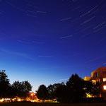 Sternstrichspuren über den Stadtvillen in Leinefelde...am 22.07.2012 ....aufgenommen zusammen mit Thilo Skalei
