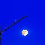 01.08.2012 ca.21.45Uhr  Vollmond über Leinefelde