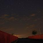 Sternenhimmel über Leinefelde Nähe Helbing am 13.08.2012 um ca.0 Uhr....aufgenommen zusammen mit Alena Keller und Michael Sappelt
