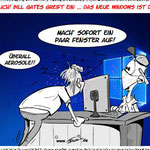 Corona: Bill Gates greift ein ... endlich gibt es ein neues Windows